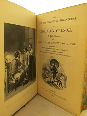The Life and Strange Surprising Adventures of Robinson Crusoe, of York, Mariner: Who lived Eight ...