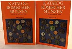 """Two volumes, """"Katalog Romischer Munzen, Von Pompejus bis Romulus"""" Band I and Band II: B. ..."""