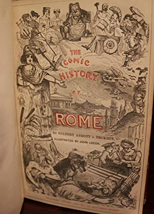 The Comic History of Rome with 10 hand-colored steel engravings: Gilbert Abbott Beckett