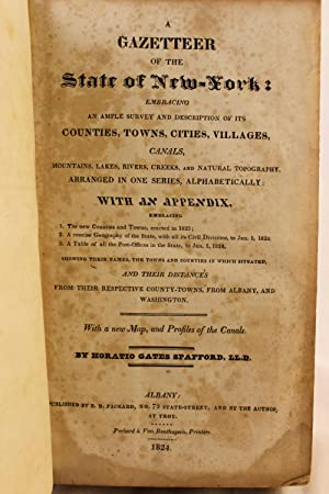 The Gazeteer of the State of New York: Embracing an Ample Survey and Description of Its Counties, ...