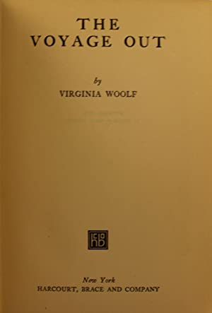 The Voyage Out: Virginia Woolf