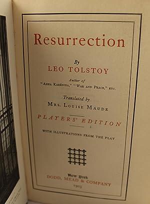 Resurrection: Leo Tolstoy