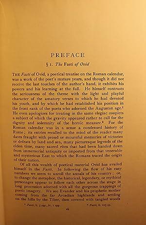 Publii Ovidii Nasonis Fastorum Libri Sex, The Fasti of Ovid: James George Frazer, Ovid
