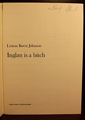 Inglan is a Bitch: Linton Kwesi Johnson
