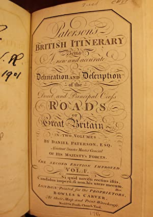 Paterson's British Itinerary Being a New and Accurate Delineation and Description of the Direct...
