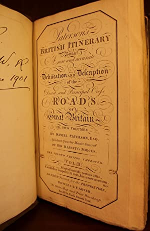Paterson's British Itinerary Being a New and Accurate Delineation and Description of the ...