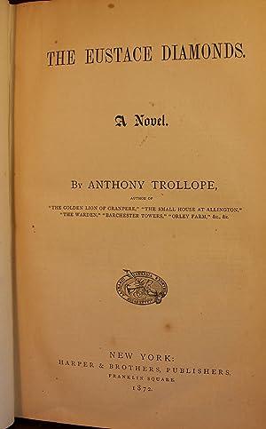 The Eustace Diamonds: Anthony Trollope