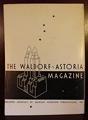 The Waldorf-Astoria Magazine December 1934