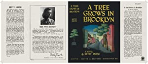 Facsimile Dust Jacket ONLY A Tree Grows: Betty Smith