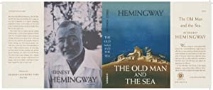 Facsimile Dust Jacket ONLY The Old Man: Ernest Hemingway