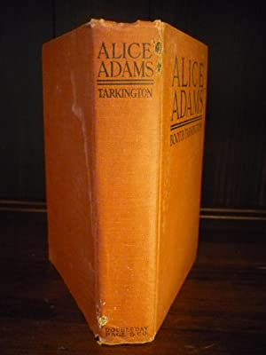 Alice Adams SIGNED: Booth Tarkington