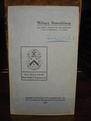 Military Demolitions: Douglas MacArthur