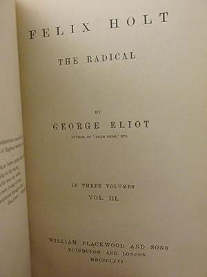 Felix Holt, The Radical: George Eliot