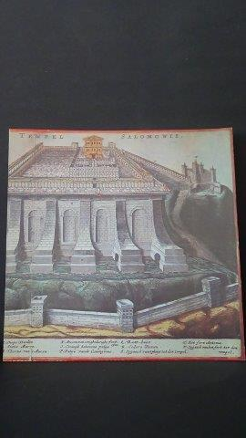 De tempel van Salomo.: Agt, J.F. van