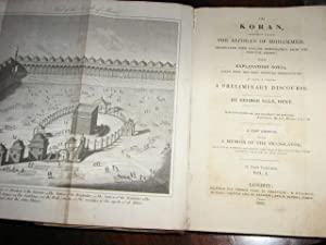 THE KORAN, commonly called The Alcoran of Mohammed, Translated into English immediately from thje ...