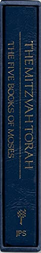 The Mitzvah Torah: The Five Books of: Jewish Publication Society
