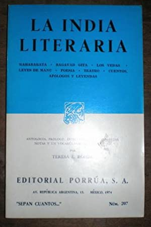 LA INDIA LITERARIA.: ROHDE, Teresa E