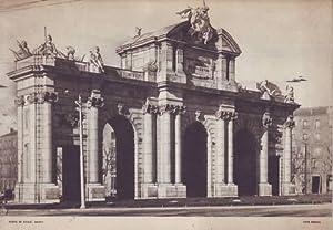 MADRID. Puerta de Alcalá. Foto Ferlosa.