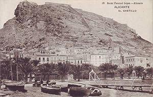 ALICANTE: El Castillo. Bazar Pascual López.