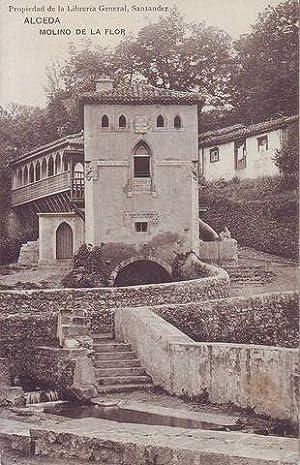 ALCEDA (Cantabria) Molino de la Flor. Librería General, Santander.