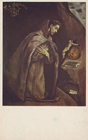 EL GRECO (1541-1614) St. Francis and the Skull. The Art Institute of Chicago.