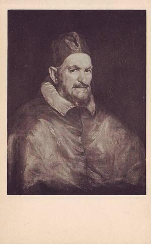 VELAZQUEZ (1599-1660) Pope Innocent X. The Isabella Stewart Gardner Museum, Boston.