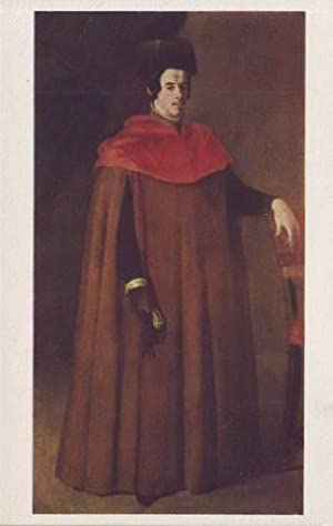 A DOCTOR OF LAW. Francisco de Zurbarán B. 1598. The Isabella Stewart Gardner Museum.