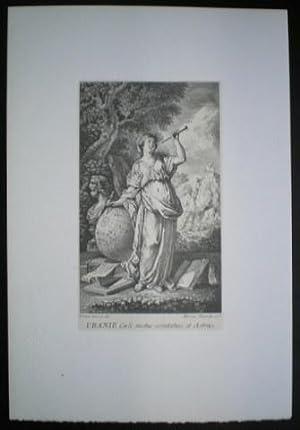 URANIE. URANIA, Musa de la Astronomía, Poesía