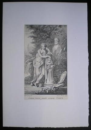 TALIA: Musa del Teatro. Dibujada por LUIS