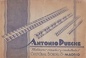 ANTONIO PUECHE. Molduras rizadas y onduladas. Cristóbal