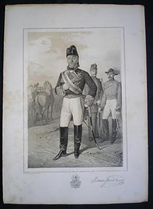 TENIENTE GENERAL D. MARTIN JOSE DE IRIARTE, Inspector General del Cuerpo de Carabineros del Reyno. ...