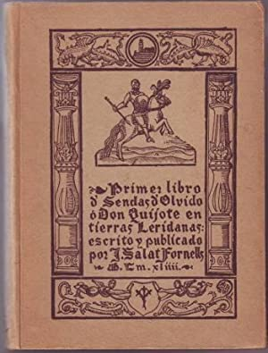 PRIMER LIBRO DE SENDAS DEL OLVIDO o: SALAT FORNELLS