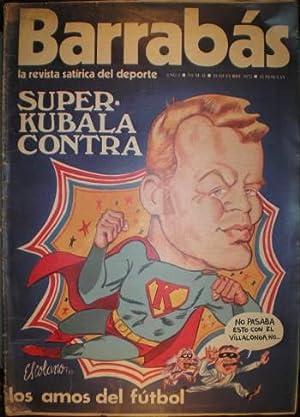 BARRABAS. La revista satírica del deporte. Año