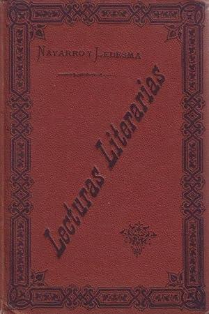 LECTURAS LITERARIAS. Libro de ejemplos . Instituto: NAVARRO Y LEDESMA,