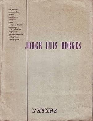 JORGE LUIS BORGES. L'HERNE, Cahiers paraissant deux