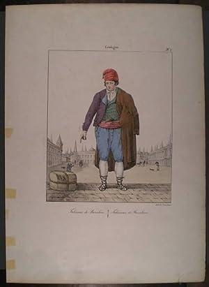FABRICANTE DE BARCELONA. De 'Collection de Costumes des Divers Provinces de L'Espagne&#...