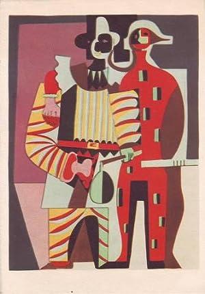 PIERROT ET ARLEQUIN. 1919. Pierrot and Harlequin. Pierrot und Harlekin.: PICASSO