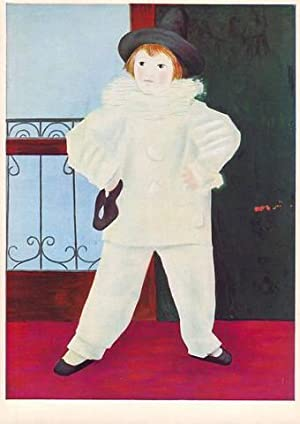 PIERROT (Paul, the artist's son, aged four) 1925.