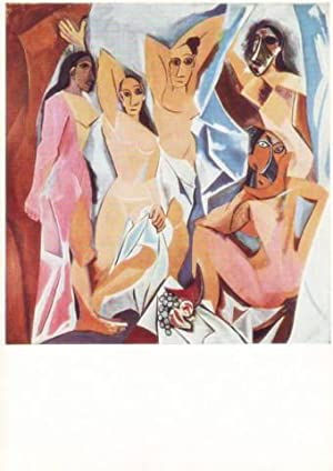LES DEMOISELLES D'AVIGNON (1907) The Museum of Modern Art, New York.