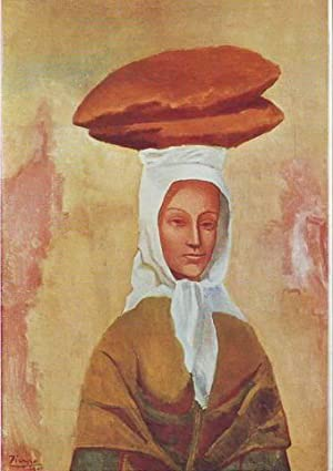 LA PORTEUSE DE PAIN. The woman with the loaves. Die brotträgerin. La portatrice di pane. Repartid...