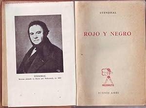 ROJO Y NEGRO.: STENDHAL