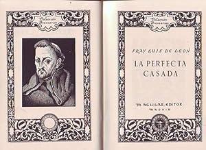 LA PERFECTA CASADA. Colección Breviarios.: LEON, Fray Luis de