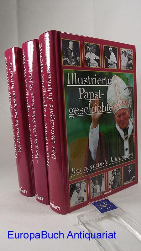 Illustrierte Papstgeschichte. 3 Bände (komplett) Band 1.: Castella, Gaston: