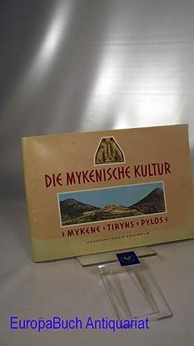 Die Mykenische Kultur. Mykene- Tiryns- Pylos- Pläne,: Kontorlis, Konstantinos P.: