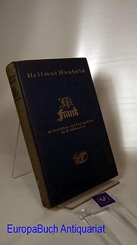 Johann Peter Frank, der Gesundheits- und Rassenpolitiker des 18. Jahrhunderts : Mit 12 Abb., davon ...