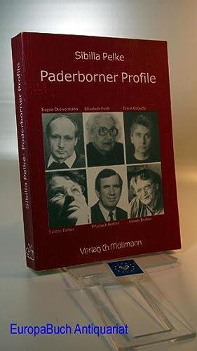 Paderborner Profile; Eugen Drewermann; Elisabeth Feith, Erwin: Pelke, Sibilla: