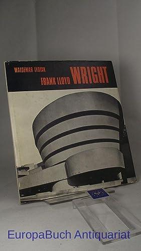 Frank Lloyd Wright. Aus dem Polnischen übersetzt: Lysiak, Waldemar und