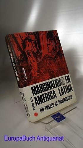 Marginalidad en Amerca Latina. Un ensayo de diagnostico: Abreu, Vincente: