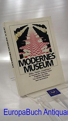 Modernes Museum: Bilder, Objekte, Installationen im Museum: Hierholzer, Michael: