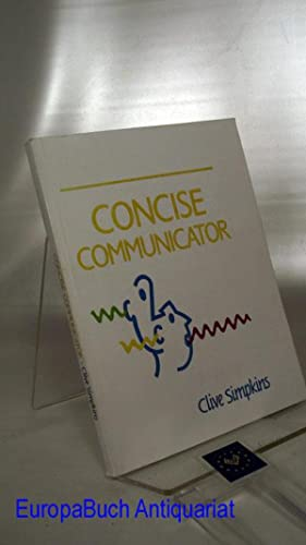 Concise Communicator.